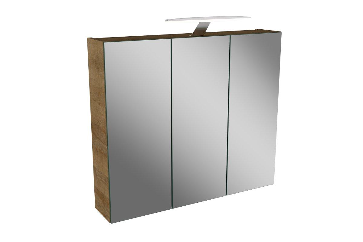 lanzet l7 spiegelschrank 70 cm spiegelschr nke badm bel badedu. Black Bedroom Furniture Sets. Home Design Ideas