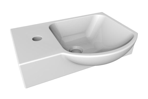 Lanzet K3 Gäste WC Waschbecken Keramik 45,5 cm, 7140012