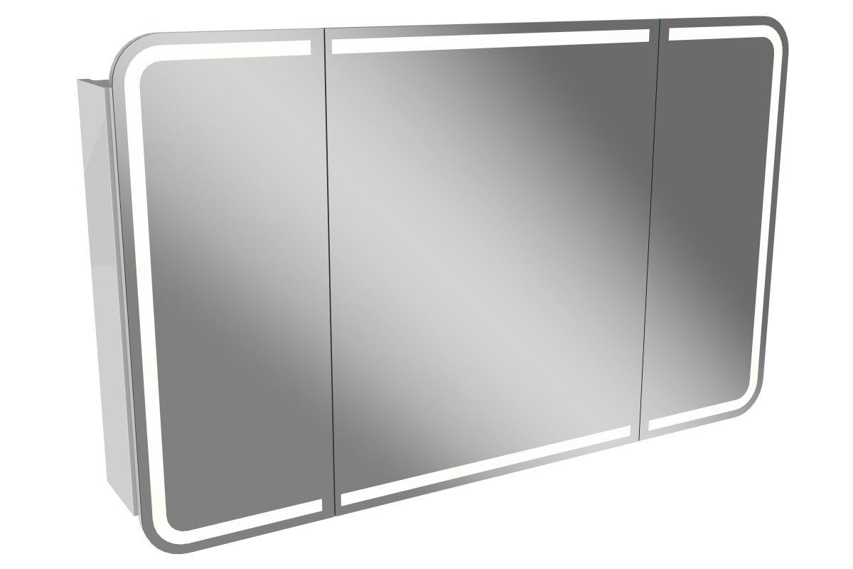 lanzet m9 spiegelschrank 120cm wei badedu badedu