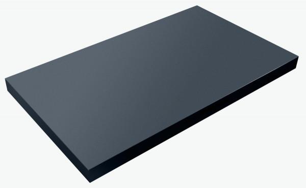 Fackelmann HYPE Waschtischplatte ohne Ausschnitt 80 cm, 83251