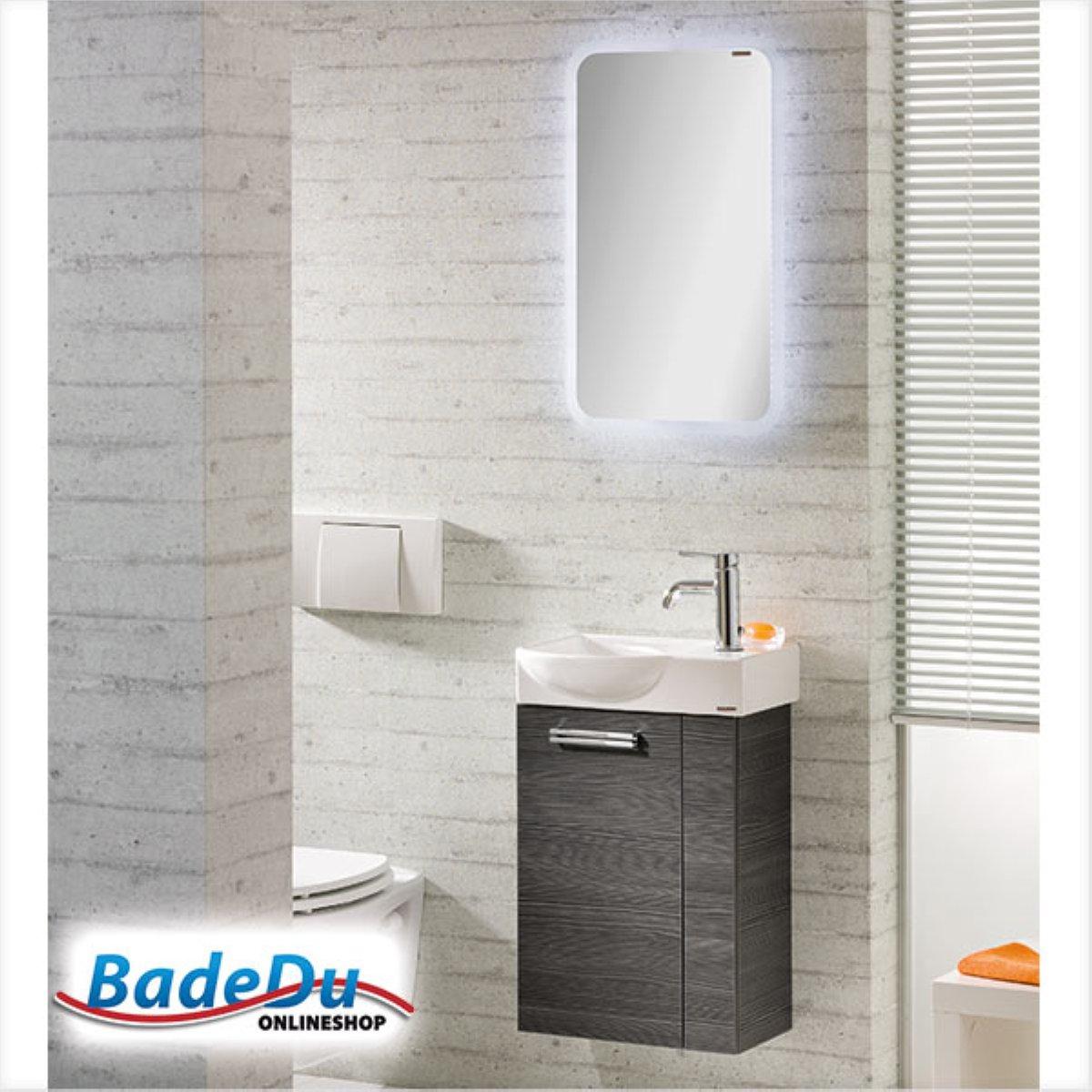 fackelmann como g ste wc set 45 cm links schwarz badm bel sets badm bel badedu. Black Bedroom Furniture Sets. Home Design Ideas