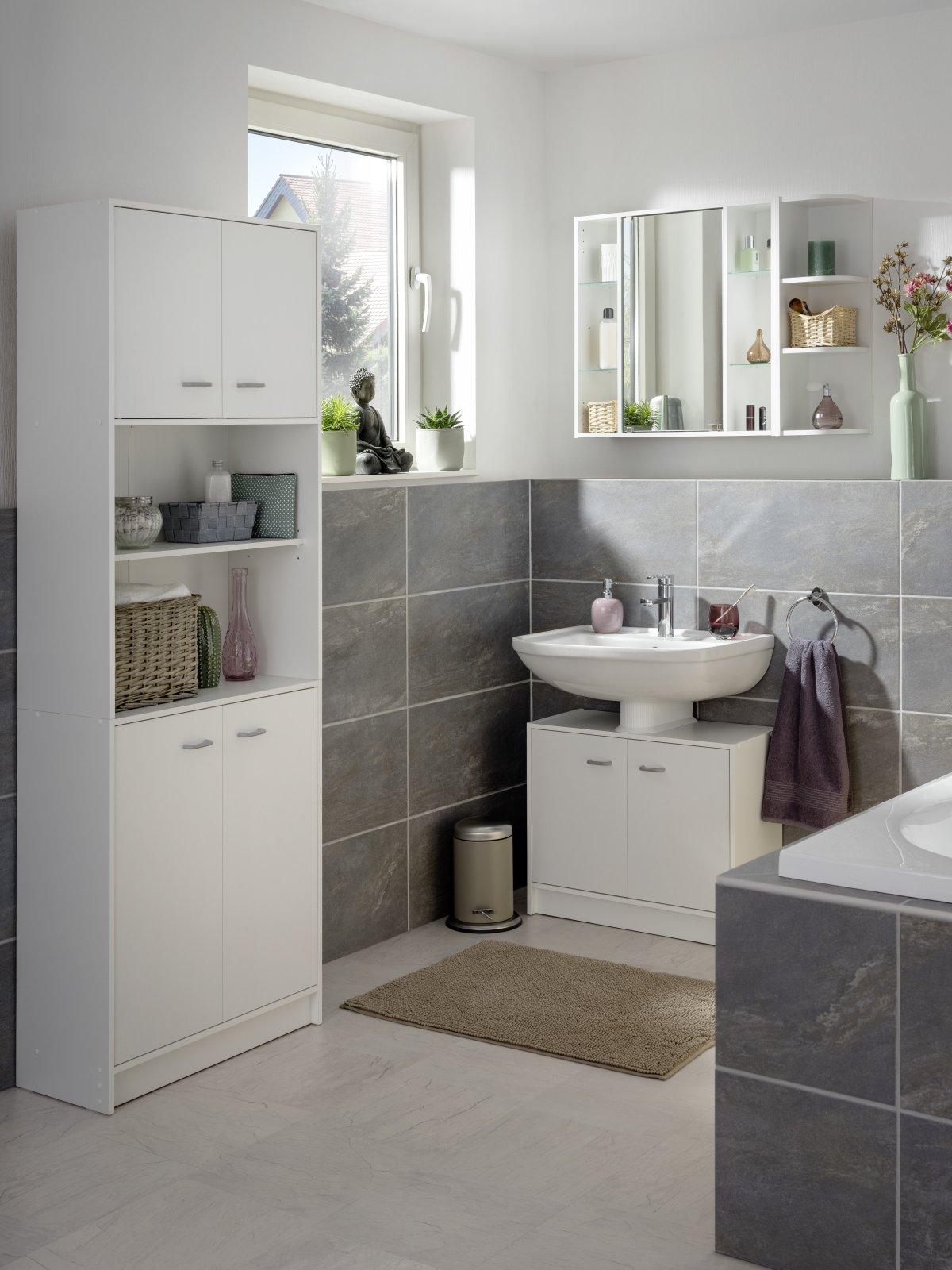 fackelmann trend spiegelschrank 65 cm spiegelschr nke badm bel badedu. Black Bedroom Furniture Sets. Home Design Ideas