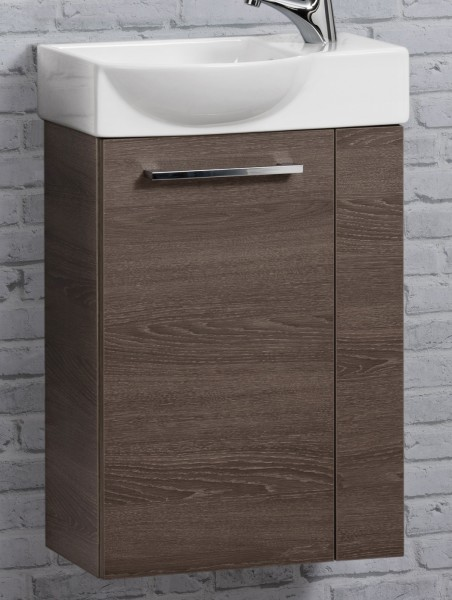 fackelmann rondo g ste wc set 45cm braun dunkel badedu. Black Bedroom Furniture Sets. Home Design Ideas