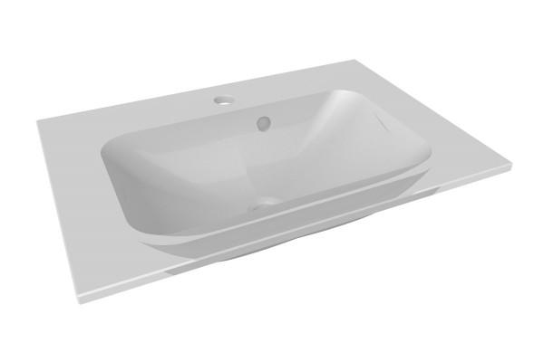 Fackelmann YEGA Waschbecken 60 cm aus Glas, 73990